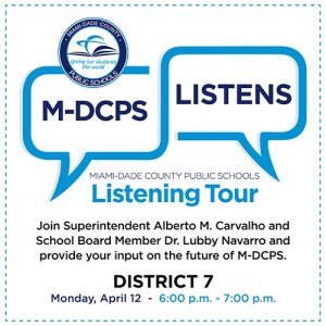 Mdcps Calendar 2022.Mdcps Listening Tour With District 7 Jorge Mas Canosa