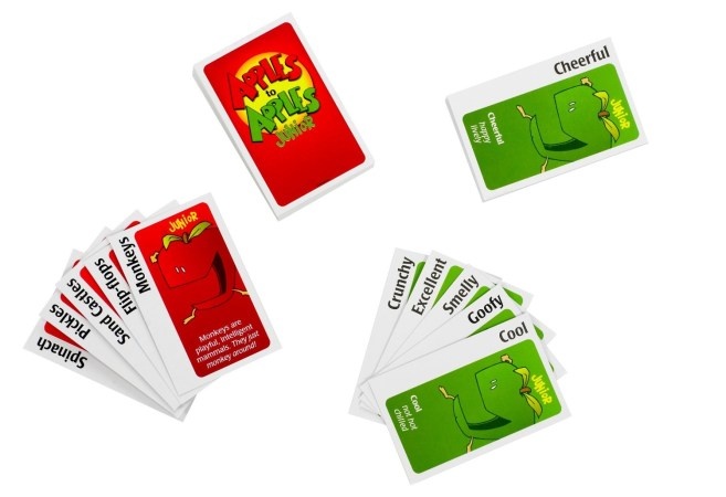 Apples to Apples cards