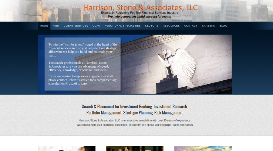 harrison stone executive search new york city