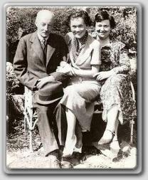 Maureen O'Sullivan with Father and Frazer mother