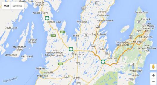 Harbour Buffet Map