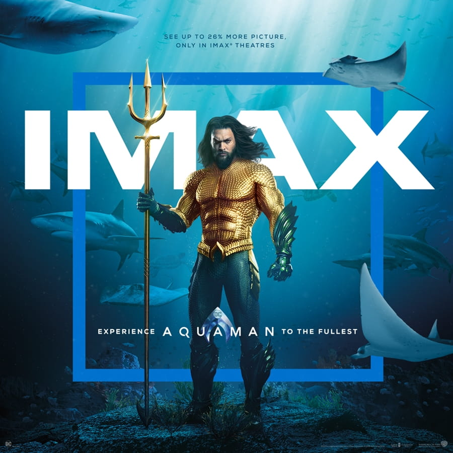 Jason Momoa in Aquaman (IMAX)