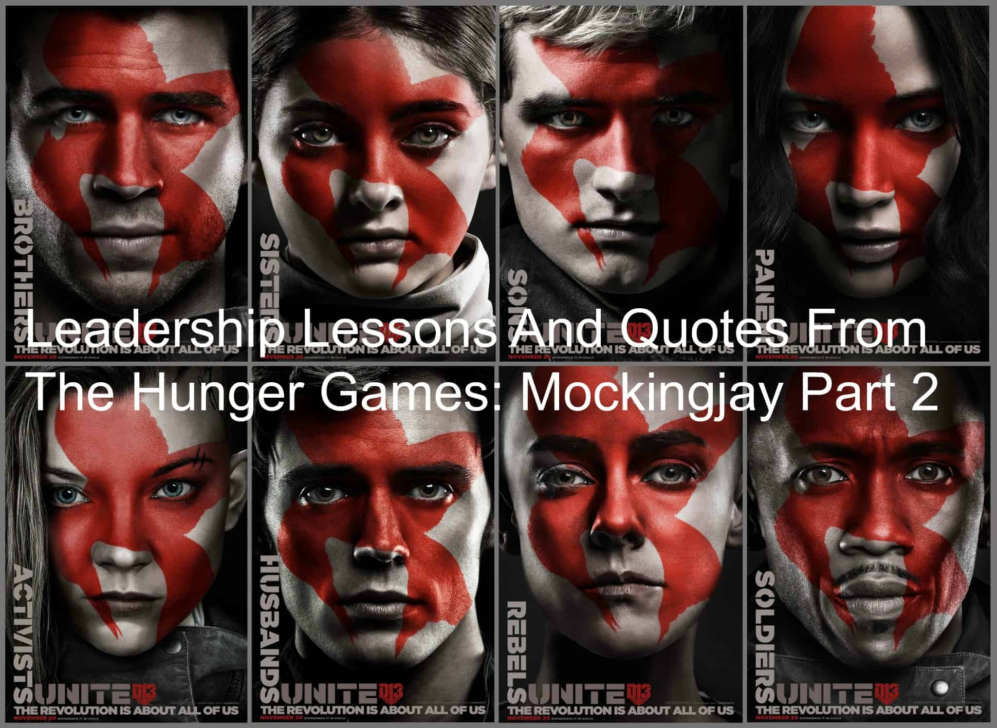 Leadership Lessons And Quotes From The Hunger Games