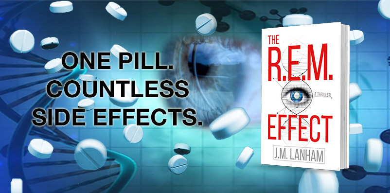 """The R.E.M. Effect promo ad, """"One pill. Countless side effects."""""""