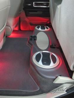 Dodge Ram Subwoofer Integration