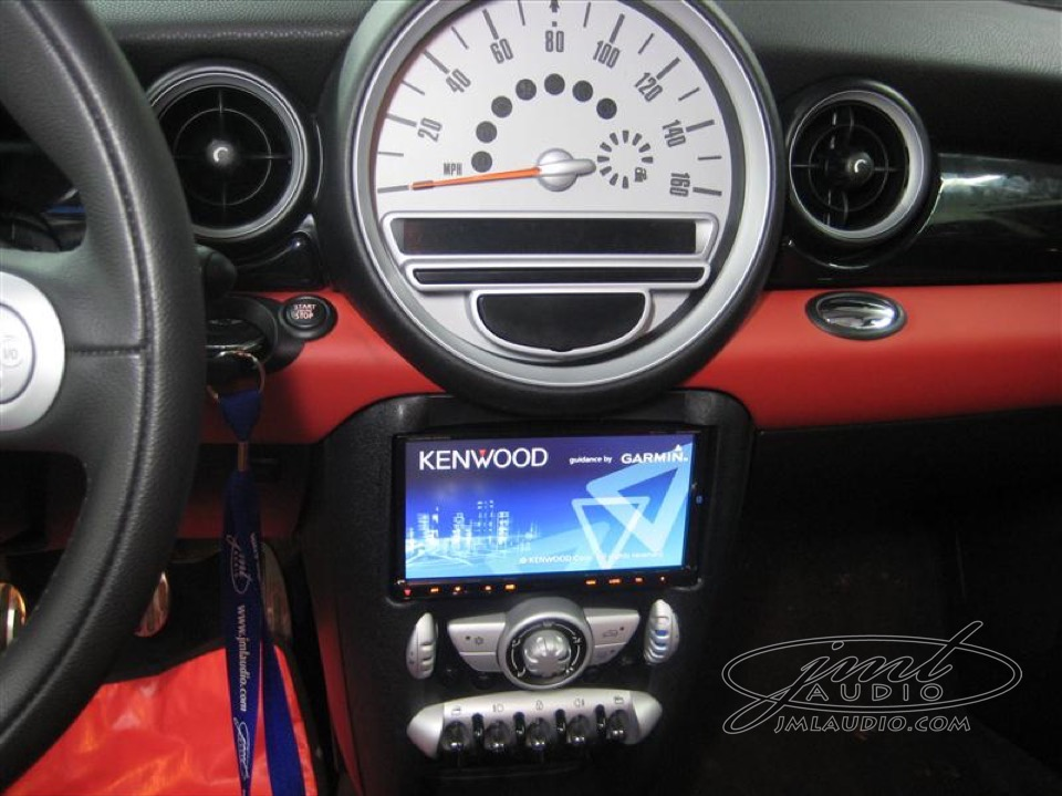 Kenwood Touchscreen Radio >> Ballwin Client Upgrades His Mini Cooper S Connectivity