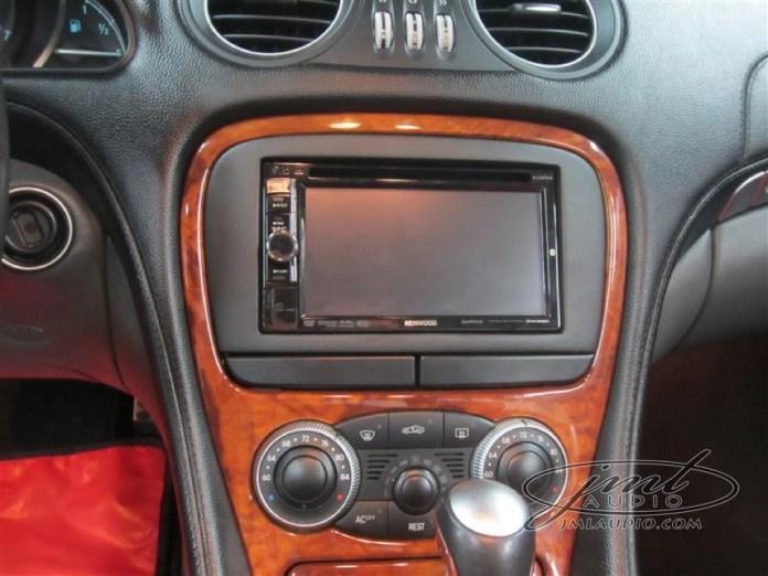 aftermarket radio bezel sl500 technology upgrade thrills high ridge mercedes client