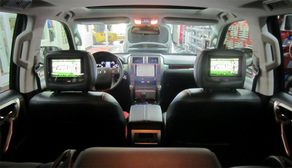 Wildwood Lexus Gx460 Client Adds Rear Seat Entertainment