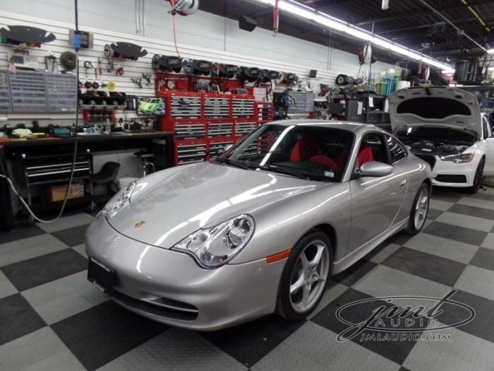 Porsche 911 996 Audio