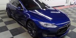 Creve Coeur Client Adds Custom Tesla P85D Laser & Radar Detector