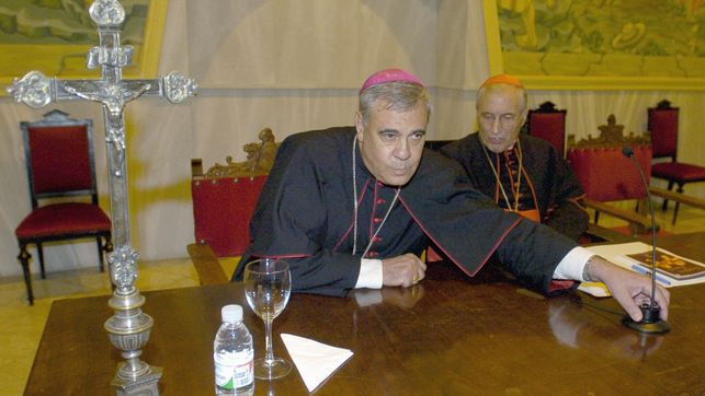 Arzobispo de Granada, Francisco Martínez. Fotografía: Agencia EFE