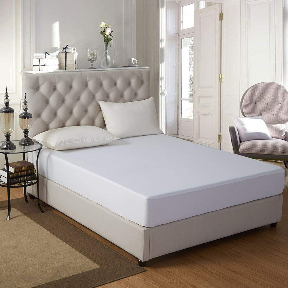 Mattress Protector Waterproof Microfiber Surface Up To