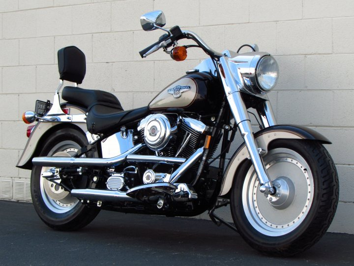 1998 Harley Davidson Fat Boy 95th Anniversary FLSTF For