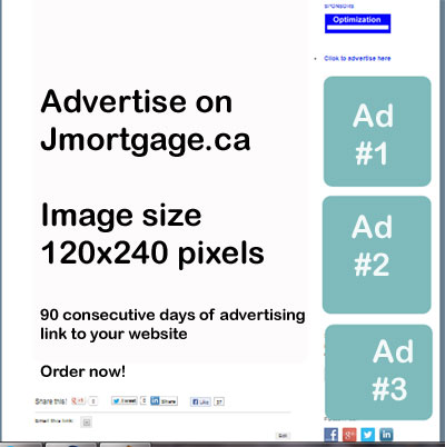 Advertise on Jmortgage.ca