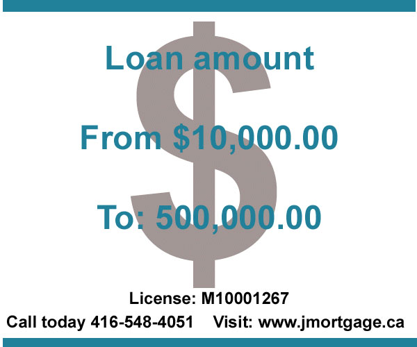 Second Mortgage High Ratio Loan amount