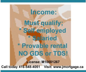 Second Mortgage High Ratio Income