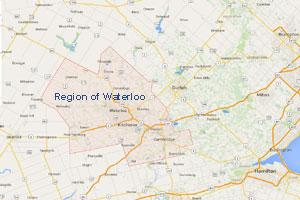 Region Of Waterloo Map