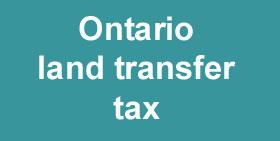 Ontario Land Transfer Tax