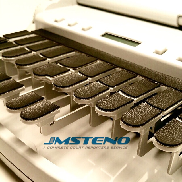 Stenowriter Synthetic Leather Keytop Covers for All