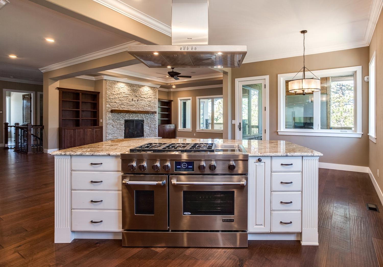 New Center Island Kitchen Design In Castle Rock Jm
