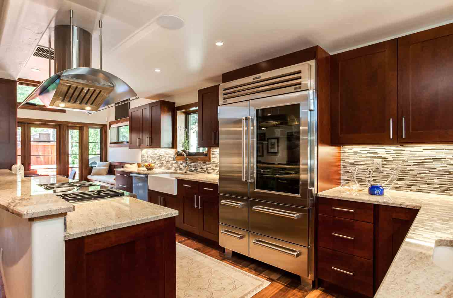 Transitional Cherry Kitchen In Cherry Creek Jm Kitchen