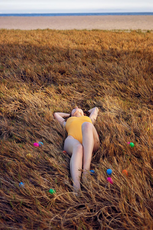Easter Seaside_Yellow Bikini_Topanga Beach_23
