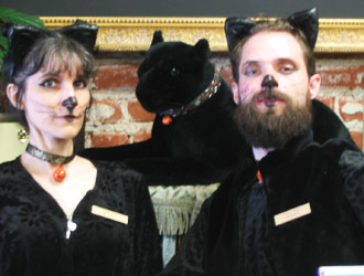Halloween Cat Costumes | Panorama of Mt. Judah | Creating a couple's bucket list to create the relationship you want.