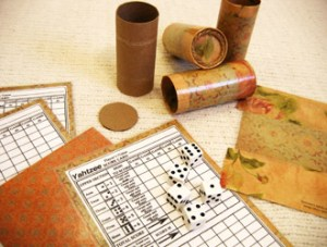 Half Finished Yatzee Set | How to make a Yahtzee game from toilet paper tubes