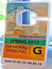 How to use parking passes and credit cards to make guitar picks.
