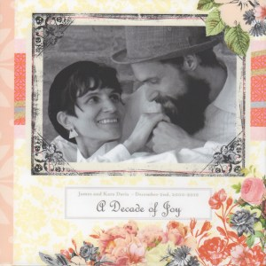 If a picture is worth a thousand words, an Anniversary Year Book beautifully describes the joy and delight of a year's memories. | jnkdavis.com
