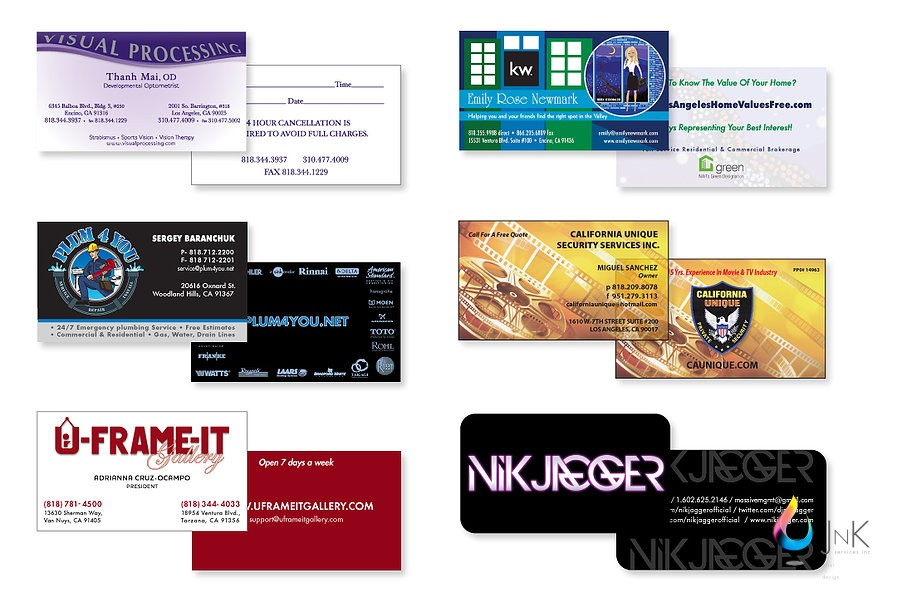 J n k services inc business cards reheart Choice Image