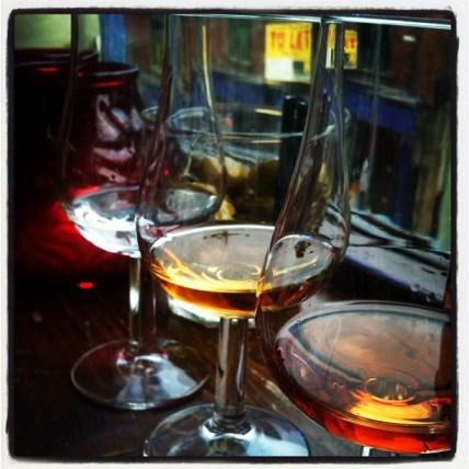 Trio of rums