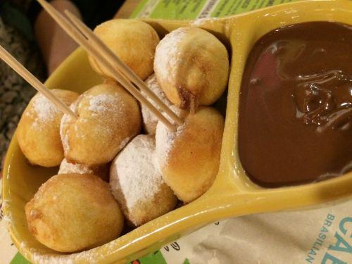 Chocolate Raindrop Doughnuts - COR