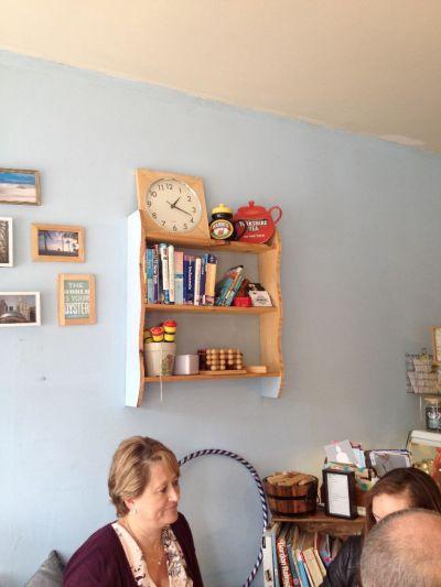 Shelves, books, pics