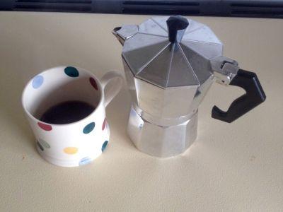 Much needed espresso