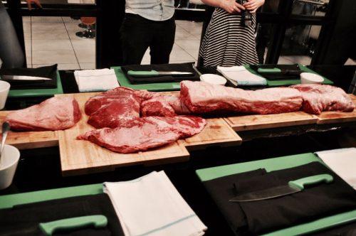 Steak carcass!