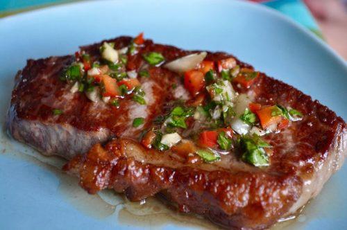 Our sirloin steak