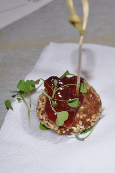 Crab Falafel