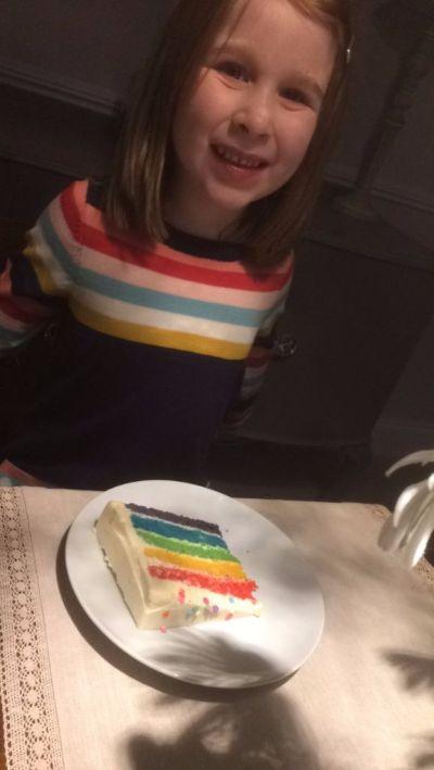 Wearing rainbows, eating rainbows