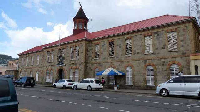Image result for police headquarters kingstown