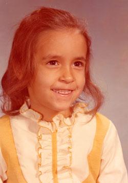 a photograph of Joan Jakel in kindergarten