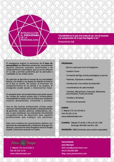 cartell eneagrama 2013