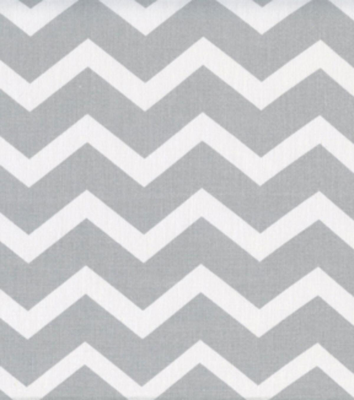 keepsake calico cotton fabric gray white chevron
