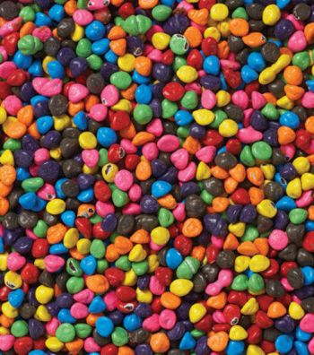 Wilton Rainbow Chip Crunch - Available at JoAnn's - This is one of my favorite sprinkles to use!