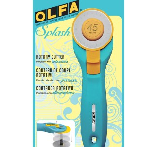 Olfa Blue Splash 45mm Rotary Cutter