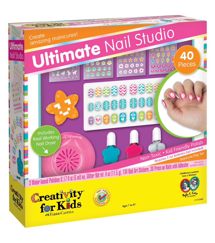Creativity For Kids Kit Ultimate Nail Studio Joann