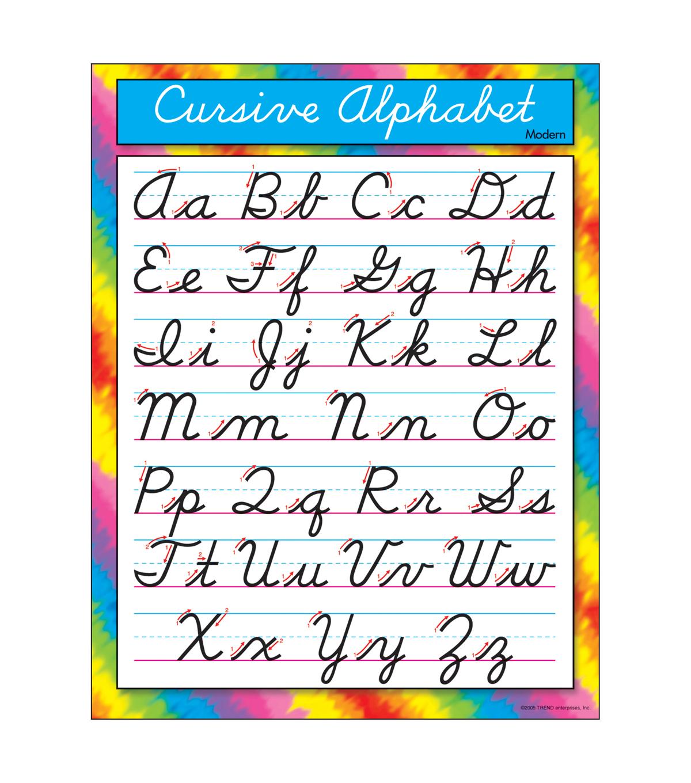 Curcive Alphabet
