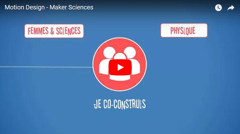 Motion Design – Maker Sciences