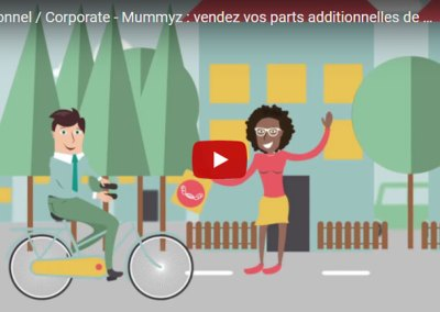 Institutionnel / Corporate – Mummyz : vendez vos parts additionnelles de plats cuisinés !
