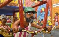 Rickshaw detail